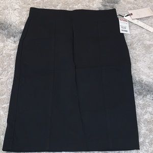 NWT Stretchy black skirt